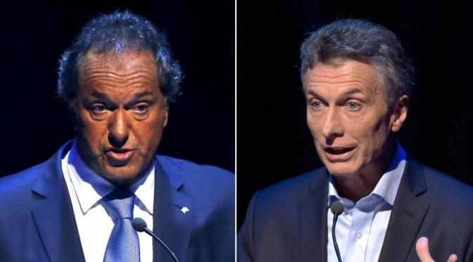 Sergio Rulicki analizó los gestos de Daniel Scioli y Mauricio Macri
