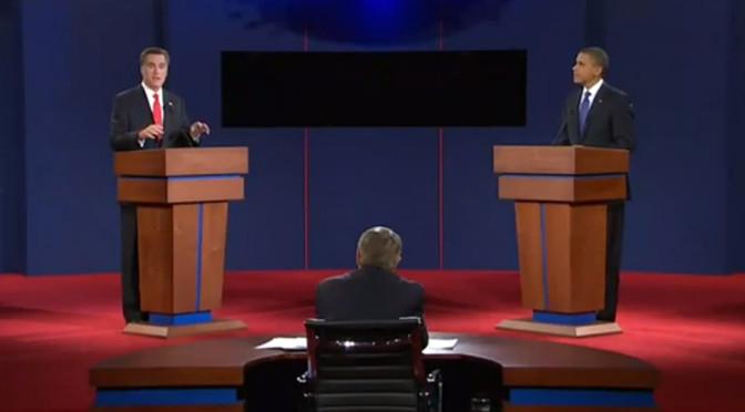 Análisis no verbal del primer debate Obama -Rommey