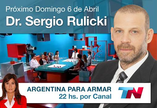 Dr. Sergio Rulicki en Argentina para Armar