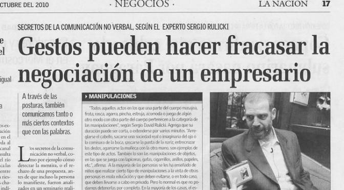 Nota del Dr. Rulicki en Diario La Nación de Paraguay (Sábado)