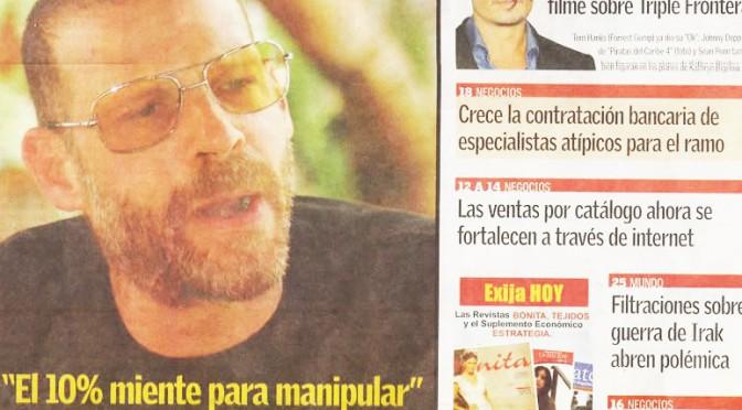 Nota del Dr. Rulicki en Diario La Nación de Paraguay (Domingo)