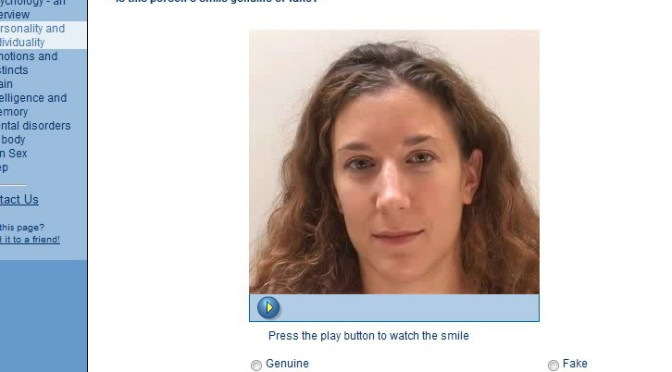 TEST: Detective de Sonrisas